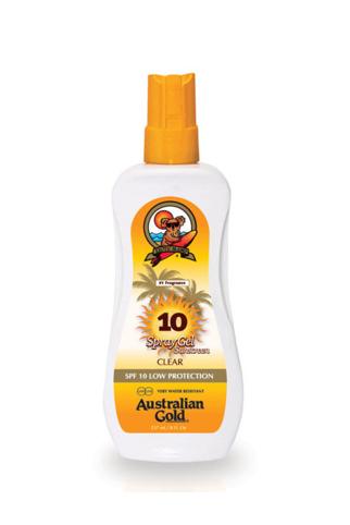 AUSTRALIAN GOLD SUNCREAM SPF 10