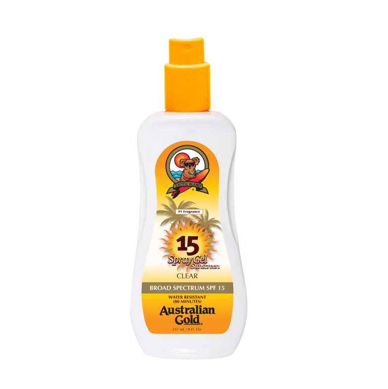 AUSTRALIAN GOLD SUNCREAM SPF 15