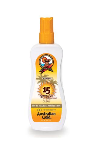 AUSTRALIAN GOLD SUNCREAM SPF 15