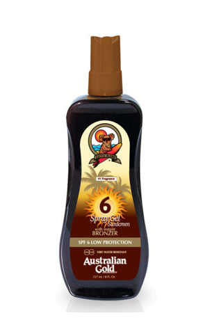 AUSTRALIAN GOLD SUNCREAM SPF 6 B