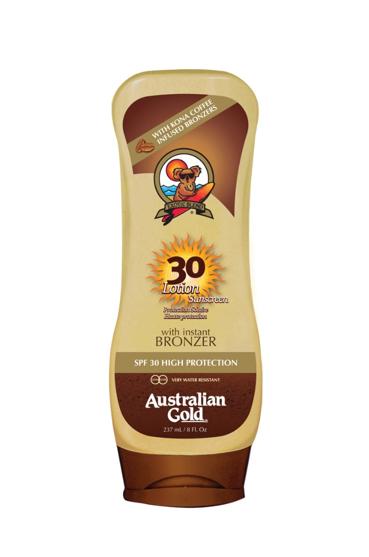 Australian Gold SPF 30 Cream with Bronzer