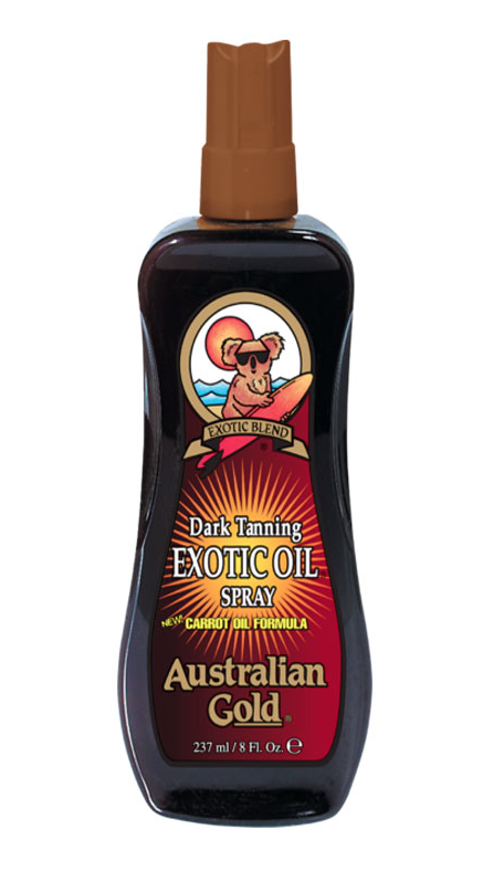 Dark Tanning Exotic Oil© Spray