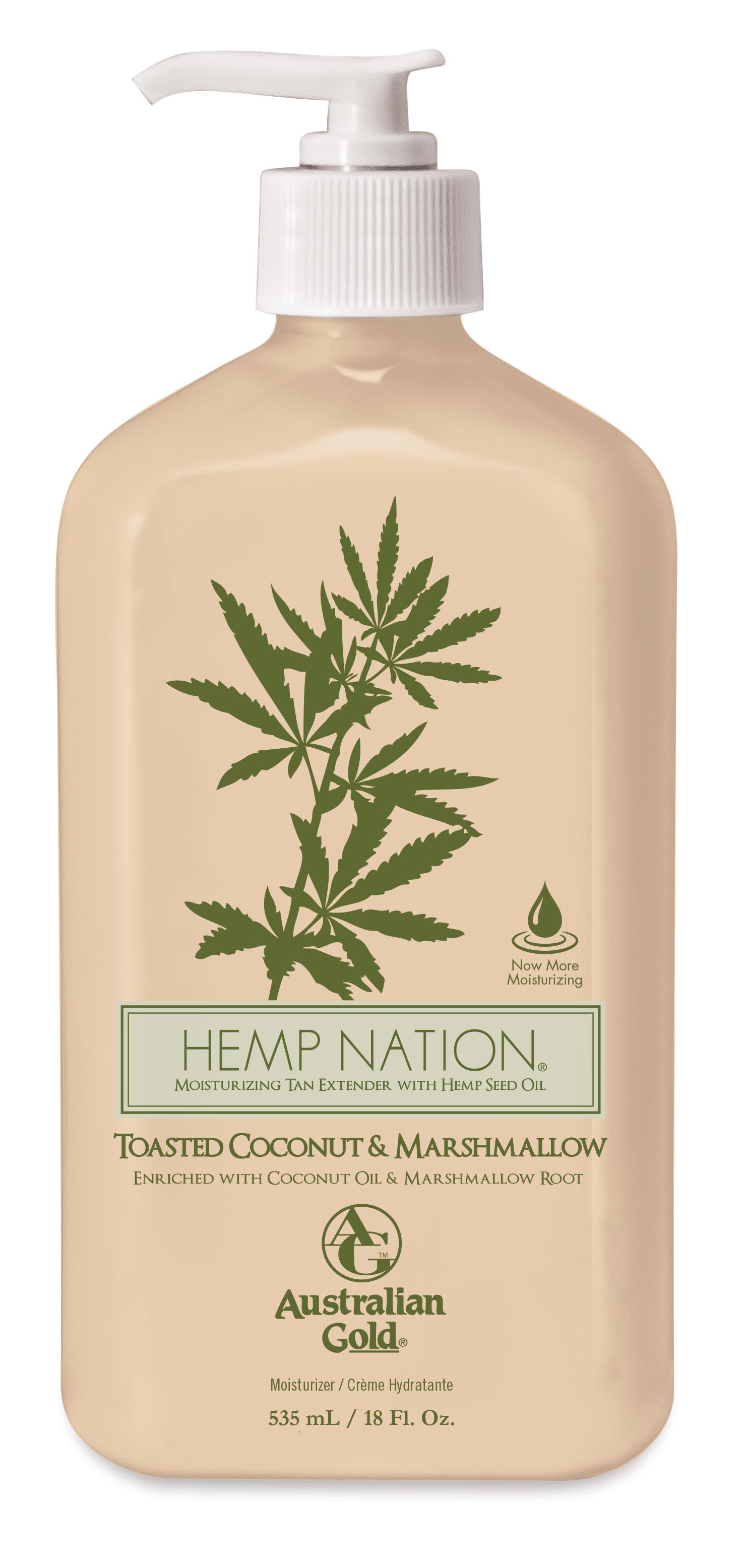 Hemp Nation - Toasted Coconut & Marshmallow - Tanning Creams