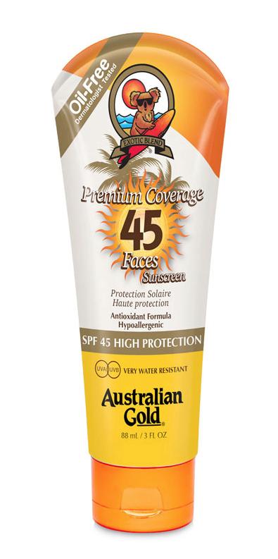 Premium Coverage SPF 45 Face Lotions