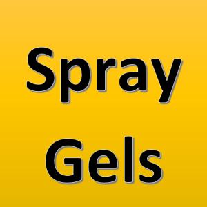 Spray Gels